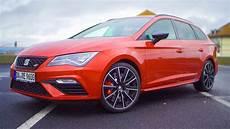 2017 2018 Seat Cupra St Perfomance Pack Test Drive