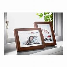 Ikea Ribba 4x6 Picture Frame Wood Grain Set Of 2 New Ebay