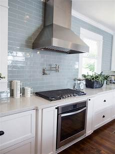 Blue Tile Backsplash Kitchen Other Key Features In The New Kitchen Are Stainless Steel