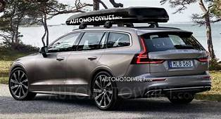 2019 Volvo V60 Are These The First Official Photos