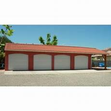 garage 4 voitures avec auvent mod 232 le 182