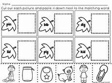 reading worksheets for fall cut and paste by first grade first tpt