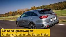 Kia Ceed Sportswagon Fahrbericht Technische Daten