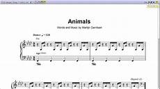 animals by martin garrix piano sheet music teaser youtube