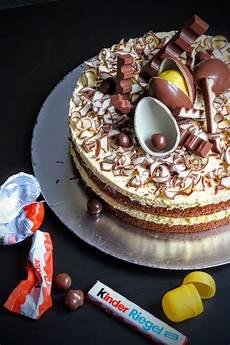 kinderschokolade torte kuchen und torten