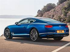 2018 bentley continental gt debuts with w12 engine