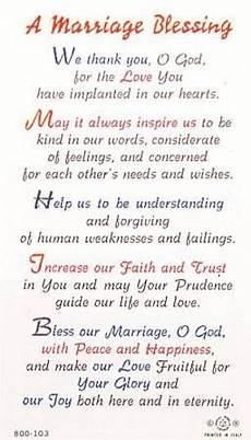Wedding Blessing Ideas