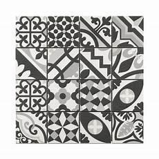 Mosa 239 Que Carreaux De Ciment Blanc Et Noir 30 X 30 Cm