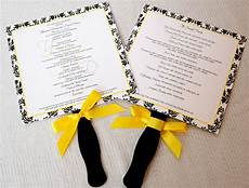 Yellow And Black Wedding Invitations