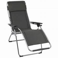 chaise relax lafuma fauteuil relax futura clippe ardoise lafuma achat