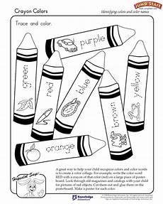 colors review worksheets 12802 quot crayon colors quot kindergarten coloring worksheets jumpstart js reading worksheets