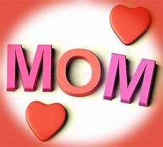 lettere per mamma lettere ortografano mamma con i cuori come simbolo per