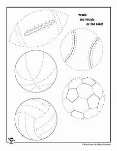 sports worksheets kindergarten 15816 summer sports tracing worksheet woo jr activities