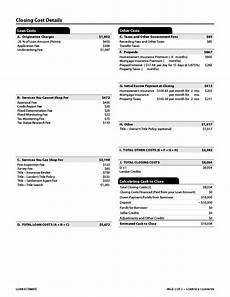 loan estimate explainer