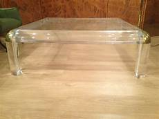 Glass Perspex Coffee Tables