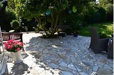 Gartenfit Terrassenbau Aus Stein Holz Oder Kunststoff