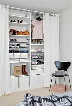 Begehbarer Kleiderschrank Mit Vorhang - offene kleiderschranksysteme 30 wundersch 246 ne ideen