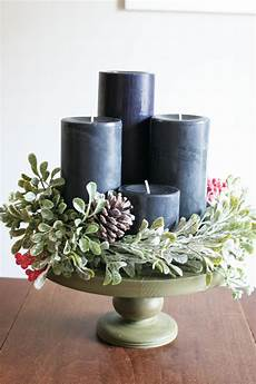 how to make a beautiful diy modern advent wreath