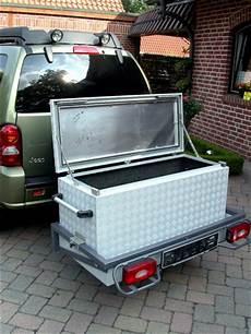 koffer für anhängerkupplung heckboxen gep 228 ckboxen brossbox alukisten und
