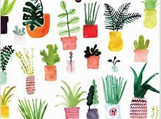 Plants by ban.do   Free Spring Desktop Wallpapers
