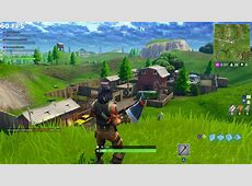 Fortnite PS4 Pro (1080p) vs. Xbox One X (4K) Comparison