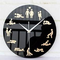 Wall Clock Boudoir Home Decor Creative Modern Design