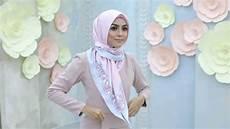 Cara Membuat Jilbab Segi Empat Modis Trend Busana Kekinian
