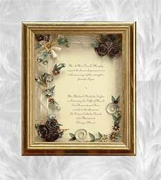 Framed Wedding Invitation Ideas