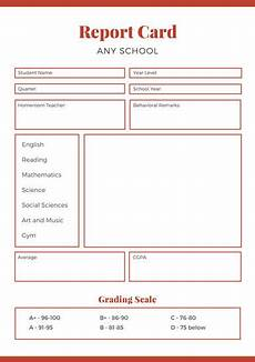 high school report card template customize 10 016 report card templates canva