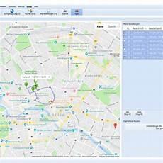 Winorder Routenplanung Touren Planen An Fahrer Senden