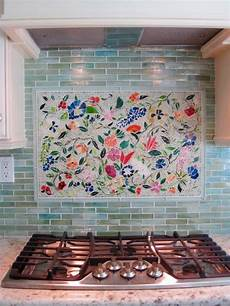 creating the kitchen backsplash with mosaic tiles