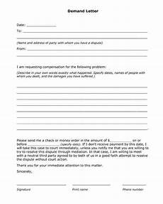 request compensation letter demand for compensation form free printable pdf letter useful