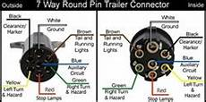 Wiring Diagram For The Pollak Heavy Duty 7 Pole