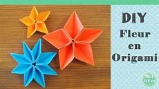 diy fleur origami facile la fleur de