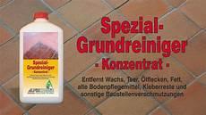 Spezial Grundreiniger Anwendung Z B Alte Wachsschichten