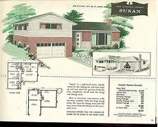 split level house plans 1960s factory built houses 28 pages of lincoln homes from 1955