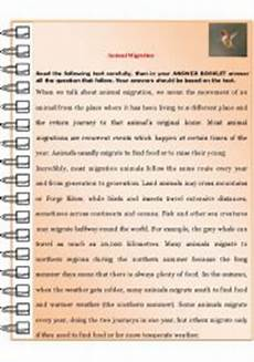 animal migration worksheets 14057 animal migration esl worksheet by youness