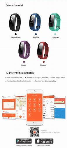 veryfitpro sports mode 2018 veryfitpro sport ecg smart watch cicret tracker health bracelet id107 plus hr buy 2018