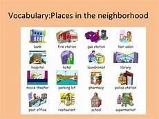 places in my neighbourhood worksheets 16015 unit 8 neighborhood