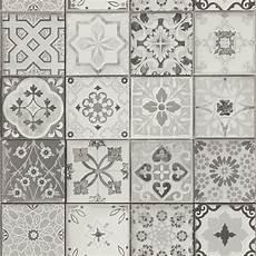 papier peint carreaux de ciment 4 murs papier peint carreaux vinyle sur intiss 233 imitation