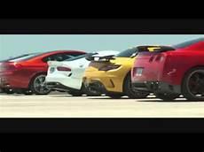 course des voitures les plus rapides au monde