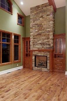 both wood and oak trim idea for both white and natural stained trim home decor colors