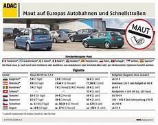 adac maut österreich autobahn maut in eu l 228 ndern verkehr sicherheit news