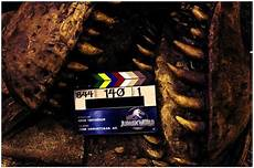 jurassic world wraps production and teases a hungry t rex freakin robot