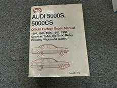 car repair manuals online free 1987 audi 5000cs lane departure warning 1984 1985 1986 1987 1988 audi 5000s 5000cs wagon quattro