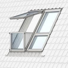 Dachfenster Mit Balkon Austritt Luxus Velux Cabrio Illu