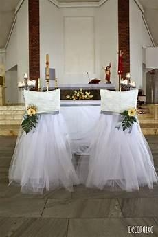 wedding church decoration wedding lace chair dekoracje