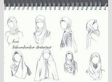 drawing a hijab   Google Search   Fashion drawing sketches