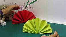 atelier diy pliage serviette eventail fan