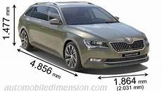 Länge Skoda Superb - dimensions of škoda cars showing length width and height